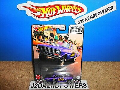 HOT WHEELS 2020 PREMIUM BOULEVARD '63 CHEVY NOVA LIL 2 SHORT 1:64 SCALE DIECAST