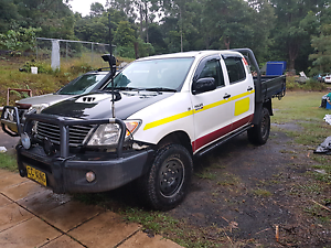 Toyota Hilux 2008 SR 4x4 turbo diesel dualcab Murwillumbah Tweed Heads Area Preview