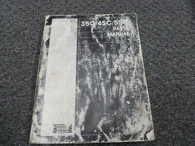 Volvo Michigan Euclid 35c 45c 55c Wheel Loader Parts Catalog Manual