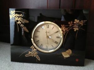 Traditional Japanese Lacquered Clock - Specially painted Wantirna South Knox Area Preview