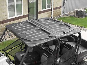 Quadboss Hard Top 2  Piece Roof Kawasaki Mule 3010 4010 Trans 2005-2014