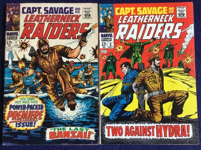 Captain Savage & His Leatherneck Raiders 1 3 4 5 6 7 8 9 10 11 12 13 14 15 18 19