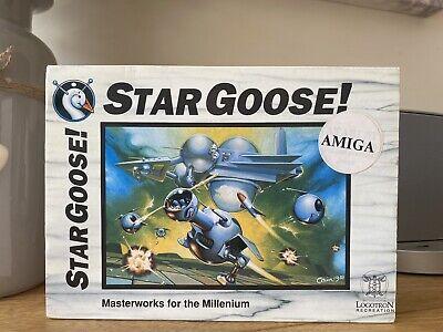 STARGOOSE Commodore Amiga Computer Big Box Floppy Disk Game