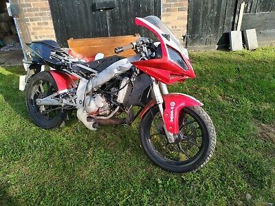 GILERA  SC 125 supersports with a DT engine  spares or repairs