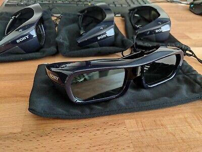 Sony TDG-BR250 Active 3D Glasses - Set of 4