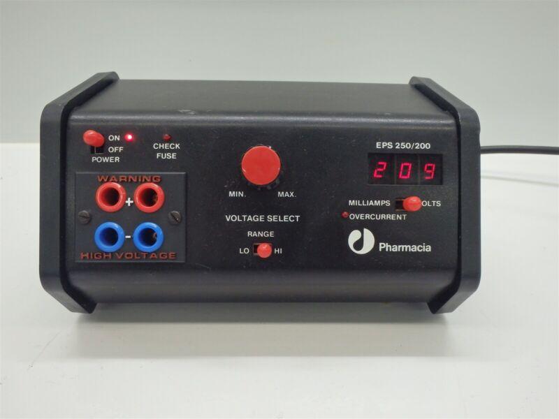 Pharmacia EPS 250/200 Electrophoresis Power Supply