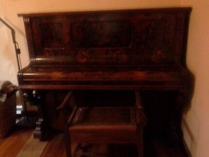 Upright piano for sale, H. Lubitz, Berlin. Banksia Park Tea Tree Gully Area Preview