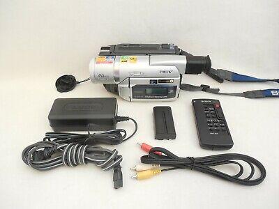 Sony DCR-TRV520 8mm Hi8 Digital8 Camcorder Excellent Condition 90-Day Warranty