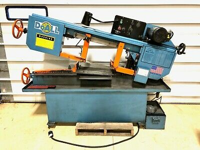 Doall Horizontal Band Saw C916 M With Coolant Pump Tank Metal Wood Cutting 1 A