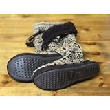 NEW With Tag MUKLUKS Women's MEDIUM 7-8  Tall SWEATER Slipper Boots