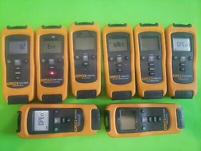 Fluke Cnx Fc Wireless 3000 Meter Modules Broken For Parts As Is.