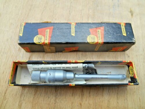 "Brown & Sharpe Intrimik .275-.350"" Inside Micrometer .0001"""