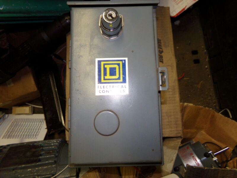 Square D 30072-15-52 Electrical Control Box Enclosure *FREE SHIPPING*