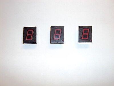 Led Display Nsn64r 7 Segment Displays Vintage Qty 3 Used Working