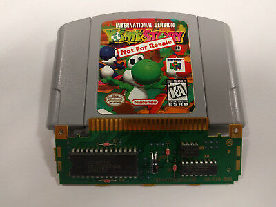 N64 Yoshis Story International Version Not For Resale Nfr Authentic