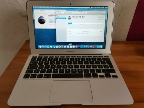 Apple MacBook Air 11 Zoll A1370 128GB 4 GB Ram Mid Mitte 2011 Top Zustand - OVP