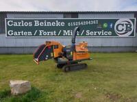 Häcksler Kettenhäcksler Raupe Mobilhäcksler zu vermieten Nordrhein-Westfalen - Nieheim Vorschau