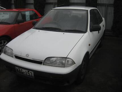 1990 Suzuki Swift Sedan Grange Charles Sturt Area Preview