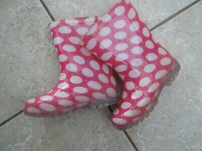 NEXT Gummistiefel Mädchen Gr. 28, pink-weiß Regenstiefel,