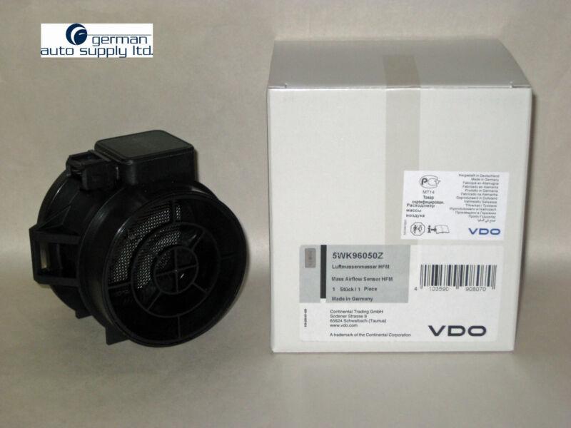 BMW Air Mass Sensor - SIEMENS, VDO # 5WK96050Z - BMW # 13621432356 - NEW OEM MAF