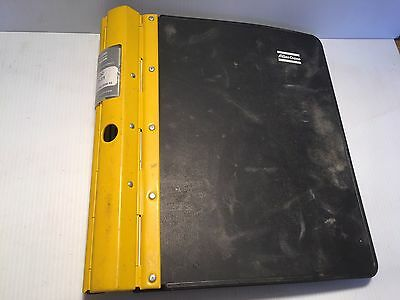 Atlas Copco Roc F9-11 Hydraulic Track Drill - Maintenance Operators Manual