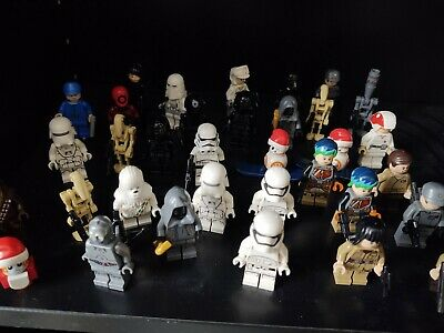 Lego star wars mini figures - Stormtrooper, IG-88, Chewbacca, Snowtrooper, BB-8