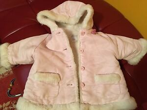 Baby girl jacket size 6/9 months