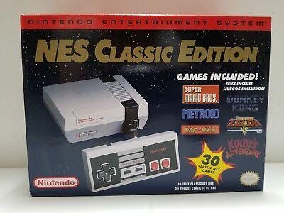 Brand New Nintendo Nes Classic Edition Mini Console W 30 Games Included