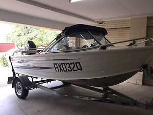 Quintrex 430 Escape - Great Condition *** Moving Overseas *** Hawthorne Brisbane South East Preview