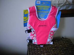 Child Buoyancy Aid Swimming Pool Flotation Vest In Pink For Swimm Beerwah Caloundra Area Preview