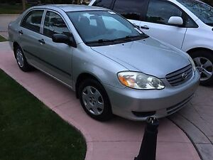 2003 Toyota Corolla 4 door automatic nice and clean