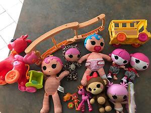Bulk lot of La La Loopsy Dolls Bathurst Bathurst City Preview
