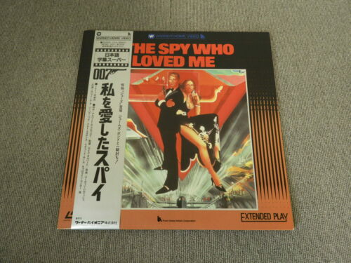 007 - The Spy Who Loved Me - Laser Disc - OBI JAPAN LD 2disc