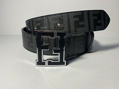Fendi Belt Black Size 30-34In.