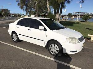 2003 Auto Toyota Corolla sedan low kms Coffs Harbour Coffs Harbour City Preview