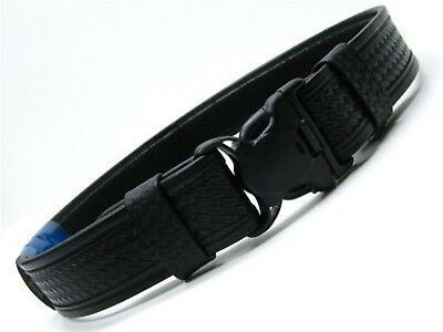 Bianchi Medium 34-40 Waist Black Basketweave 7980 Tri-release 2 Duty Belt