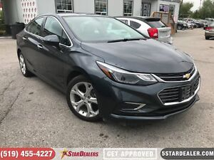 2017 Chevrolet Cruze Premier | ONE OWNER | LEATHER | CAM