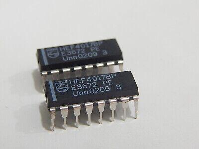 CASE DIP16 MAKE HEF4017BP Integrated Circuit NXP Semiconductors