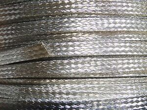 15 Ft' Flat Braided braid Tinned Copper Wire 1/4