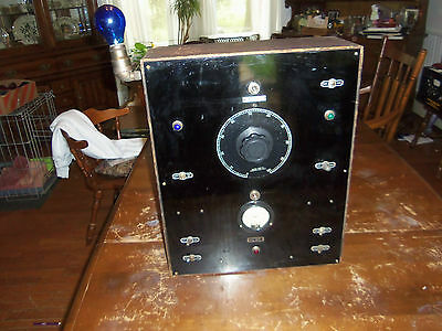 Antique General Radio Co. Adjustable Transformer Ac Volts Tester Meter