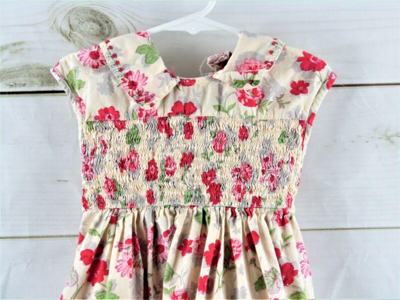 Cornelloki Floral Smocked Dress Size 2