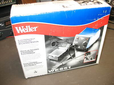 Weller Wes51 Analog Soldering Station Extra Goodies