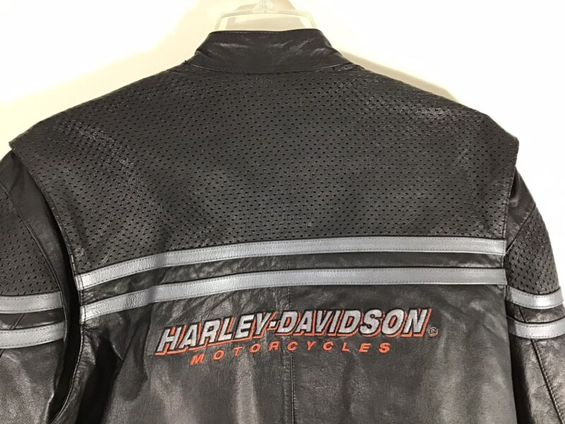 Mens Harley Davidson Motorcycles Leather Jacket Size Small