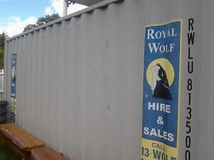20ft Royal Wolf Shipping Container Townsville City Preview
