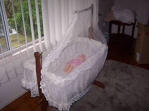 Beautiful Baby Cradle, swinging, Traditional style Cardiff Lake Macquarie Area Preview
