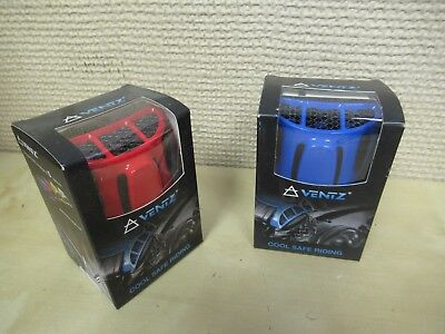 (VENTZ    MOTORCYCLE JACKET COOLING SYSTEM - GETS TWO (2) FOR ONE - BLUE + RED)
