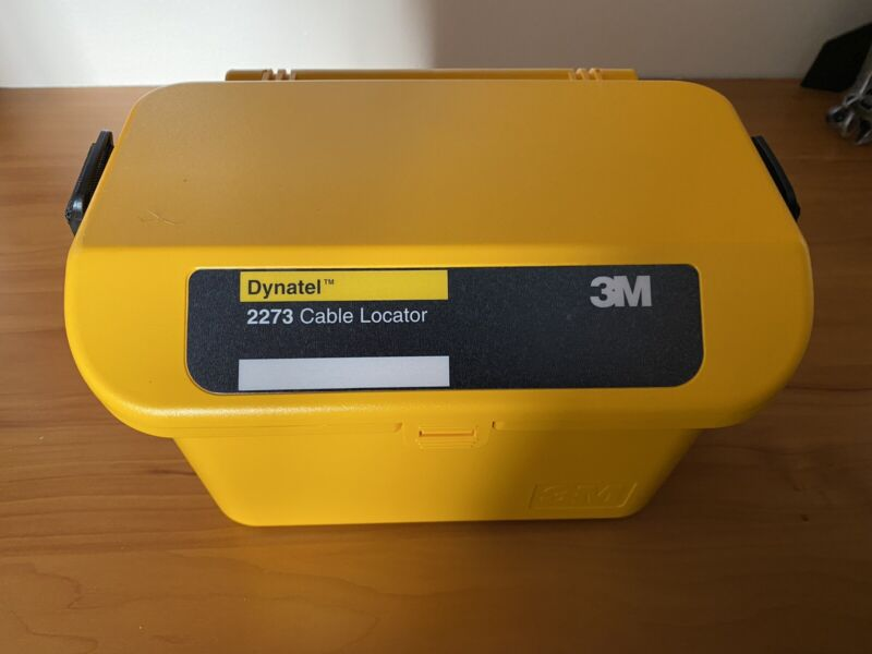 3M Dynatel 2273 Cable Locator Transmitter ONLY NO LOCATOR WAND INCLUDED