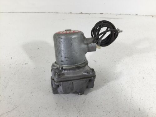 """NEW GENERAL CONTROLS 1/2"""" NPT MAGNETIC GAS VALVE TYPE K3A CAT# K3A432"""