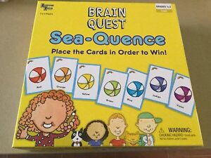 Brain Quest Sea-Quence Board game Keilor Downs Brimbank Area Preview