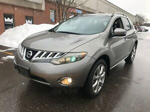 2010 Nissan Murano SL, AWD, LEATHER, PANO ROOF